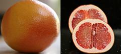 2017 Grapefruit collage (dominotic) Tags: 2017 food fruit grapefruit pinkgrapefruit citrusfruit diptych pamplemousse collage orange yᑌᗰᗰy foodcollage