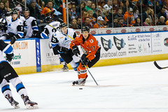 "Missouri Mavericks vs. Wichita Thunder, February 3, 2017, Silverstein Eye Centers Arena, Independence, Missouri.  Photo: John Howe / Howe Creative Photography • <a style=""font-size:0.8em;"" href=""http://www.flickr.com/photos/134016632@N02/32713946315/"" target=""_blank"">View on Flickr</a>"