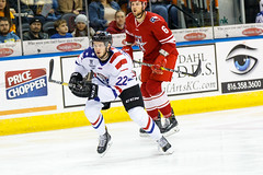 "Missouri Mavericks vs. Allen Americans, March 3, 2017, Silverstein Eye Centers Arena, Independence, Missouri.  Photo: John Howe / Howe Creative Photography • <a style=""font-size:0.8em;"" href=""http://www.flickr.com/photos/134016632@N02/33117920242/"" target=""_blank"">View on Flickr</a>"