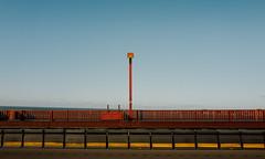 Sign posted (Panda1339) Tags: sf 28mm goldengatebridge minimalism summiluxq sanfrancisco usa yellow leicaq red california