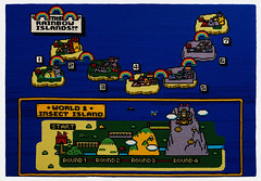 Rainbow Islands (2010) (perfhager) Tags: perfhager steneprojects contemporaryart gaming craft needlepoint embroidery handmade 刺繍 ゲーム 美術 現代美術 クラフト ハンドメイド アート