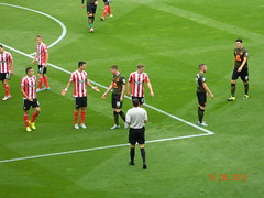 Southampton v Everton (Roy Richard Llowarch) Tags: summer england english sports sunshine sport fun football goal soccer saints sunny games pride hampshire event goals passion summertime southampton sporting englishhistory stmarys premiership everton footballfans southamptonfc footballgrounds theblues englishheritage premierleague epl footballstadiums sportsmen pastimes thebeautifulgame toffees englishfootball footballclubs evertonfc evertonfootballclub beautifulgame stmarysstadium sportsvenues footballseason southamptonengland englishpremierleague footballsupporters footballteams englishfootballfans hampshireengland sportstadiums southamptonfootballclub thetoffees thepeoplesclub soccerstadiums soccerteams saintsfc soccergrounds soccerclubs southamptonhampshire theschoolofscience stmarysfootbalstadium