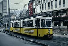 SSB (Stuttgart) tram 460 (jc_snapper) Tags: stuttgart tram streetcar strassenbahn esslingen gt4 tramvaj ssb metregauge