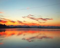 Sunday Sunrise (DASEye) Tags: sky lake sunrise dawn nikon skies sunday davidadamson daseye