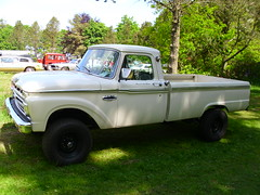 Ford F-250 Custom Cab Pick-Up (Zappadong) Tags: auto classic ford car automobile cab pickup voiture coche classics oldtimer custom oldie carshow youngtimer automobil f250 2015 oldtimertreffen traventhal zappadong