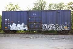 Yesh, Klew? (BombTrains) Tags: road railroad art train bench graffiti paint tag graf rail spray graff freight yesh fr8 benching klew nokl 570169