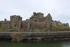 Peel Castle (DaveWilcock) Tags: castle ancient 98 peel isleofman 115picturesin2015