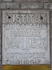 Kliniek dokter Van Neck, Sint-Gillis (Erf-goed.be) Tags: geotagged brussel kliniek sintgillis archeonet geo:lat=508212 antoinepompe geo:lon=43501 mauricevanneck