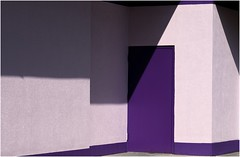 A Collection of Shapes (sorrellbruce) Tags: light abstract color texture shadows purple geometry shapes lr6 photoninja framefun