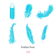 Feather fever pack 2/2 (Sansouart) Tags: feathers illustrations drawings dibujos plumas eps fondoblanco freevector featherfever vectorfeathers descargagratuitadeplumasvectoriales freedownloadingofvectorfeathers welovetheworld plumasvectoriales