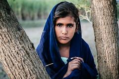 (kamranonbike) Tags: people girl indusriver sindhriver layyah