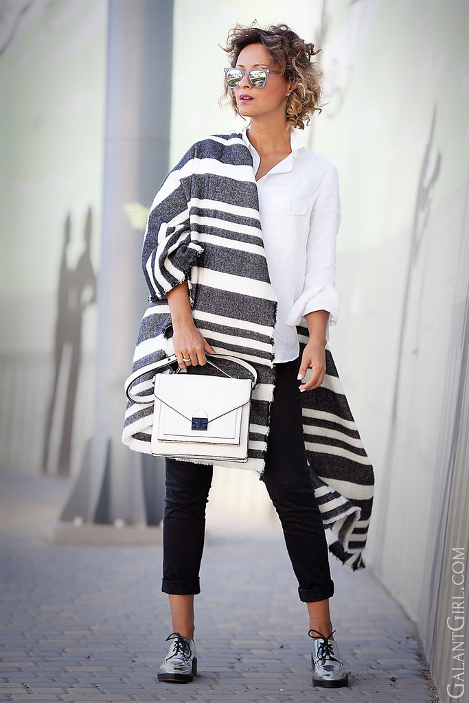 7a6bccf9bbb6 ... streetstyle fashionblog ootd fashiondetails.  striped+oversized+scarf-loeffler+randall+satchel+outfit (galant girl)
