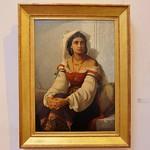 La Rochelle, Musée des beaux arts, Jules Salles, l'attente, 1870, 120x89cm thumbnail