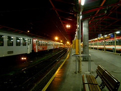 Salzburg hauptbahnhof (aloeildeverre@yahoo.fr) Tags: railroad station train de austria sterreich rail railway chemin bb autriche fer sncf waggon sterreichische bundesbahnen sterreichischebundesbahnen loeildeverrephotographie