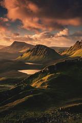 Dawn view from the Quiraing (hunterhumberto) Tags: sky mountains clouds sunrise landscape dawn scotland highlands isleofskye unitedkingdom scottish neil gb cleat barr gloaming trotternish landslip staffin quiraing storr lochcleap staffinbay biodabuidhe beinnmheadhonach beinnedra canon6d brogaig lochcleat lochleumnaluirginn cnocamheirlich tròndairnis sgurramhadaidhruaidh roundfold kvirand ancarnliath tobarnacurra