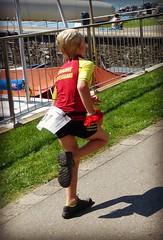 Trainee Lifeguard (Cavabienmerci) Tags: boy sports boys sport kids race children schweiz switzerland kid  child suisse running run course runners sur pied runner triathlon vevey laufen lufer lauf 2015 corseaux