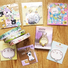 YOZOCRAFT STATIONERY (Celenia) Tags: totoro memopad stickersack decotape molang