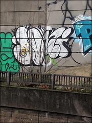 Dowt / Nigel (Alex Ellison) Tags: urban graffiti boobs chrome graff nigel eastlondon throwup hackneywick throwie tnf dfn dowt dowta