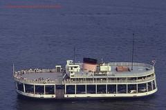 Le Radisson  Qubec - Aot 1971 (Lentille100) Tags: canada history ferry river ship quebec shore qubec stlawrence histoire stlaurent fleuve rive lvis troisrivires littoral traversier steangle