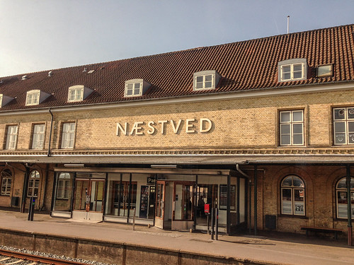 Næstved Rail Station, Denmark