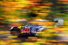 Sebastien Ogier (nic_r) Tags: trees wales vw volkswagen rally chirk wrc polo motorsport rallying 2015 ogier walesrallygb sebastienogier rallyfest polowrcr