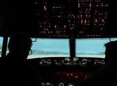 Listening to the Pilot (mikecogh) Tags: panel mc listening controls boeing instruments pilot dials copilot 737 flightsimulator unley