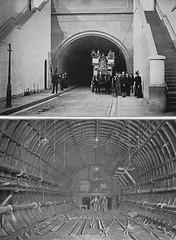 Blackwall Tunnel London circa 1897 (Ledlon89) Tags: london thames tunnel riverthames oldlondon blackwalltunnel thamestunnels