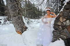 Snow Sparkles (All About Light!) Tags: fashion sparkles glamour models fx environmentalportrait snowprincess arthurkochphotography