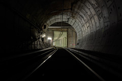 tilted (berlin 101) Tags: urban berlin underground rail tunnel trespass exploration ue recreational