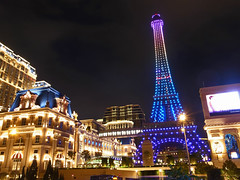 Macao night view (taka_hk1975) Tags: マカオ macao 澳门 澳門 巴黎人 夜景