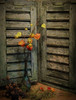 SL171216 Still Life 05 (Sh4un65_Artistry) Tags: artwork digitalart digitalpainting ferns flowers leaves painteffect paintedphoto painterly plants seedheads stilllife textured topaz topazimpression topaztextureeffects woodwork niksoftware