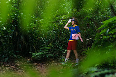 Taichi (bdrc) Tags: asdgraphy taichi digimon cosplay girl portrait crossplay bukit gasing forest jungle strobe godox sony a6000 sigma 30mm prime outdoor green park trees leaves kaori lala
