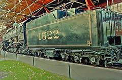 FRISCO Steam Locomotive 1522 (View 5 of 8) (gg1electrice60) Tags: stlouis saintlouis missouri 1820marketstreet betweens18thsts20thst south18thstreet south20thstreet seighteenthst stwentiethst stlouisunionstation stlouiscounty downtownstlouis trainmuseum locomotive rollingstock caboose cabeese engine boxcar passengercoach downtownwest unionstation frisco friscorailroad slsf stlouissanfranciscorailway friscnumber1522 friscono1522 frisco1522 steamlocomotive mountaintype 482wheelarrangement built1826 builtbybaldwininphiladelphia baldwinlocomotiveworks steamengine tender