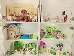 New display cabinets (JaneCherie) Tags: rement ikea sylvanianfamilies calicocritters miniature toys dollhouse playmobil