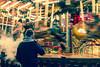 Leeds German Market (Richard Croft136) Tags: christmas festive leeds englnd german market kindlemart kindle mart 2016 smoking vaping vape motion blur warm colours cold dark night evening bright ride ammusments arcade fair fairground ground warmth