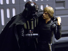 I won't leave you father (Shooting the Galaxy) Tags: starwars darthvader lukeskywalker returnofthejedi