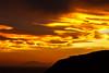 Sunset Over Red Rocks, Wellington (Jomak1) Tags: jomak1 january 2017 sunset evening golden vibrant energy cloud vibrance glow redrockswellingtonislandbay northislandsouthisland fire