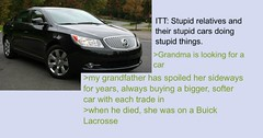 User Tells the Story of His Grandmother's Quest to Get Her Car Back (Chikkenburger) Tags: memebase memes art trolling pranks tricks lies aot internet troll cheezburger chikkenburger