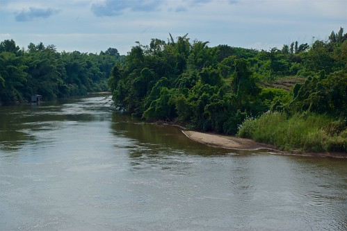 River Kwae Noi seen from Prasat Mueang Singh in Kanchanaburi, Thailand
