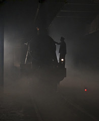 'Silhouette' (andrew_@oxford) Tags: didcot railway centre engine shed great western backlighting silhouette timeline events
