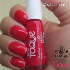 Trancoso (Novo Toque) (katiaemanias) Tags: novotoque esmaltenovotoque katiaemanias nails nailpolish nail unhas unha esmalte esmaltes vermelho