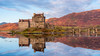 Natural reflection @ Eliean donan castle (Andrew Thomas 73) Tags: nikond810 nikon eilean donan castle scotland scottish highlands reflections