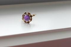 Amethyst ring (Gillian Everett) Tags: ring amethyst jewellery 7daysofshooting week26 thecolourpurple focusfriday