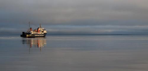 MV Isle of Arran Catching the Morning Sun