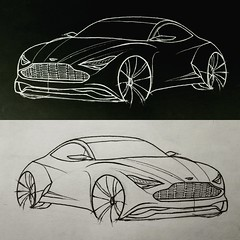 Concept Aston Martin (danilodavinci) Tags: astonmartin newcar carsketch car cardesign 2017 drawing draw auto automotivedesign process sketch sketchbook foto