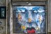 Bondi Garage (Bill Thoo) Tags: bondi sydney nsw australia garagedoor art garage spraypaint street streetart mural face sony a7rii samyang 14mm