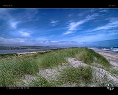 Blue Green Karamea (tomraven) Tags: dunes dune sea ocean sky mountains lagoon estuary tomraven aravenimage karamea westcoast newzealand q12017 pentax k50