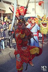 Monkey Man in Acrobatics (PitAdVitam) Tags: lisbon lisboa baixa chinesenewyear cockyear china chinese parade kungfu multicutural