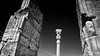 Persepolis- Iran (André Schönherr) Tags: 40d visionhunter iran persepolis shiraz monochrom monochrome sw blackwhite ruinen ruins