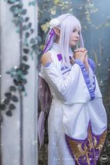 Emilia - Re:Zero (RENLUU) Tags: photography cosplay emilia rezero re zero anime manga otaku subaru ram rem portrait effect fantasy princess castle renluu vietnam vietnamese cosplayer